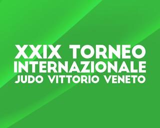 """29° International Trophy """"Judo Vittorio Veneto"""""""