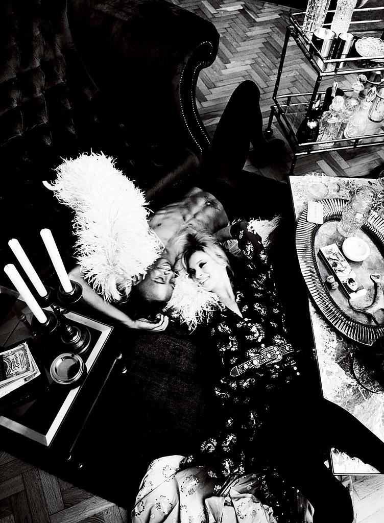 Кейт Мосс — Фотосессия для «Vogue» IT 2016 – 3