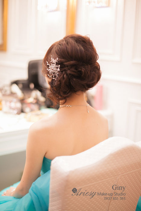 Giny,台北,新娘秘書,愛瑞思造型團隊,Ariesy,自然妝感,推薦新秘,新娘造型,補請,歐美風格造型