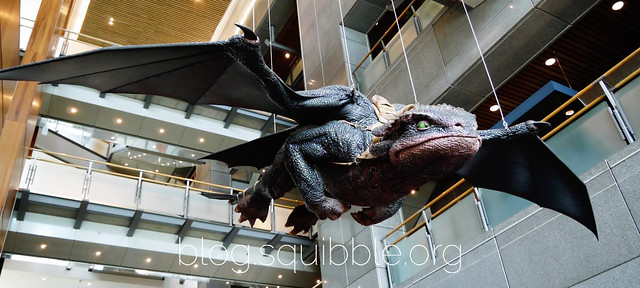Dreamworks Animation Exhibition 2016 - Life-size Toothless