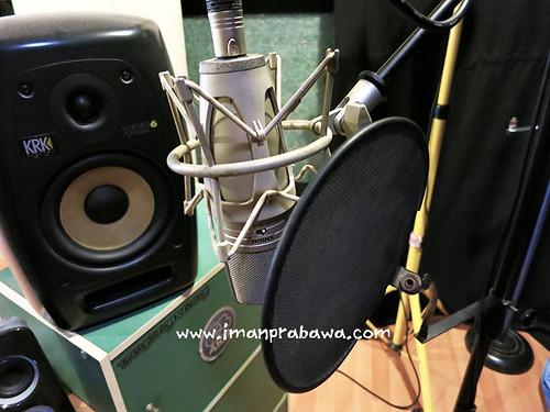 Pop Filter Untuk Merekam Audio