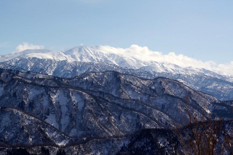 大倉岳からの白山