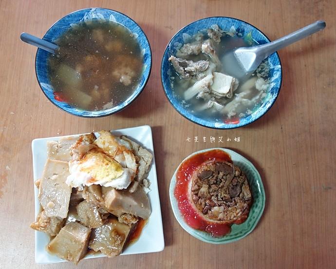 18 嘉義東市場牛雜湯、筒仔米糕、火婆煎粿