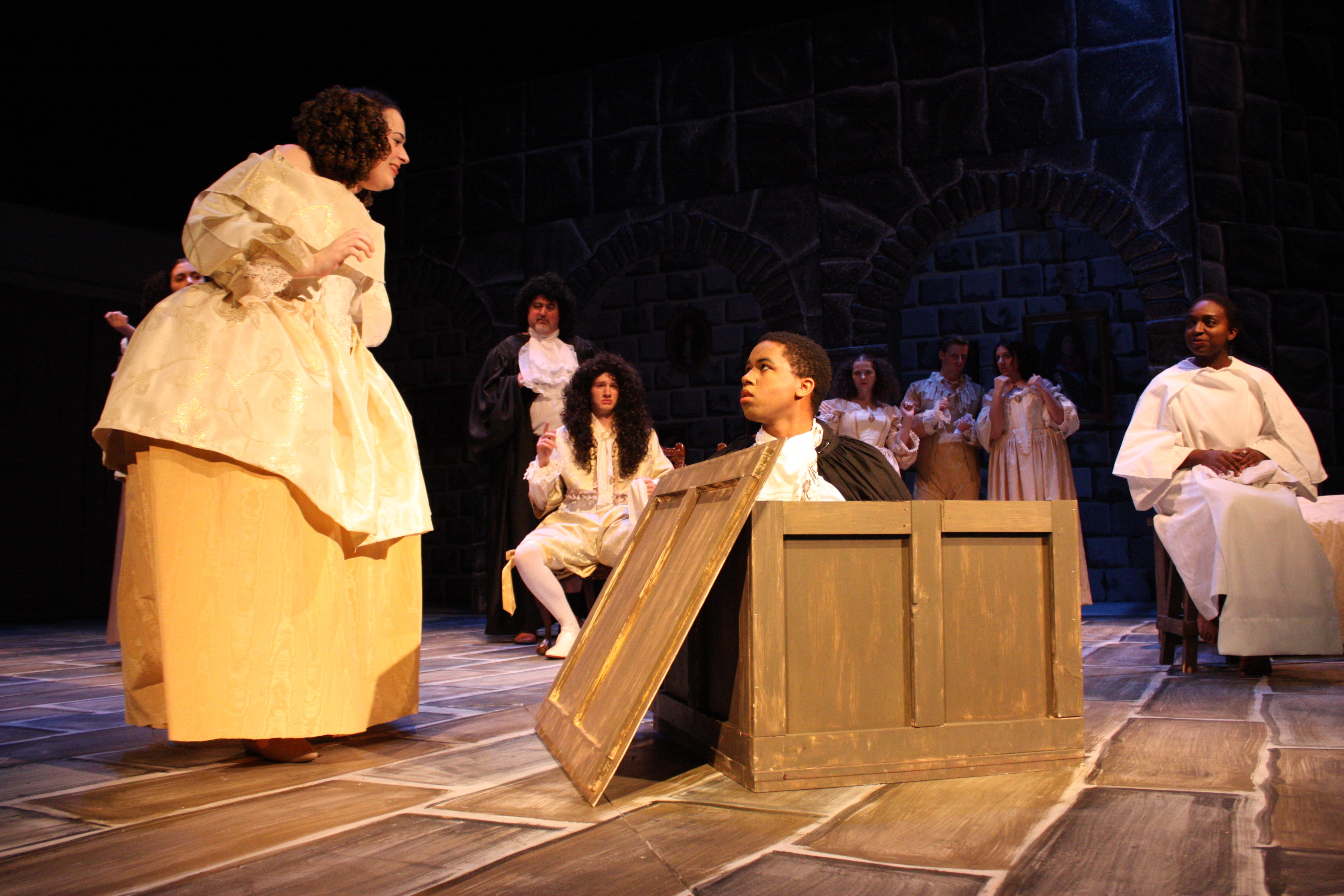 """PHOTO PREVIEW: Department of Theatre and Dance presents """"Las Meninas"""""""