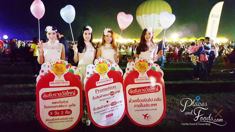 singha hot air balloon fiesta girls promotions