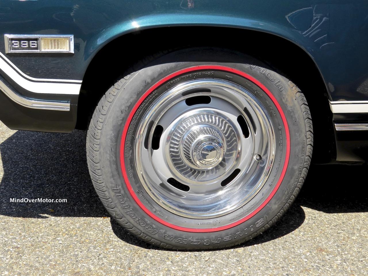1968 Chevrolet Chevelle SS396 Wheel