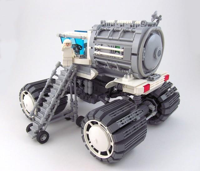 """""""Proteus"""" Rover (back)"""