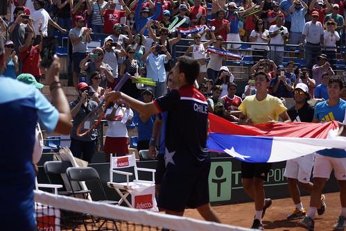 Copa Davis Chile vs República Dominicana 2016