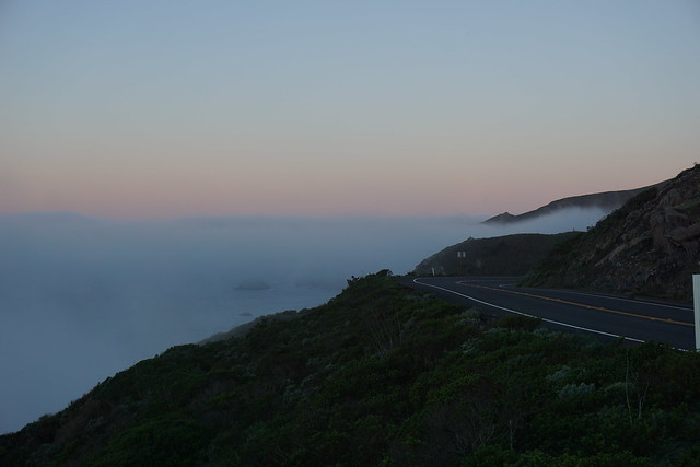 Fog on CA-1