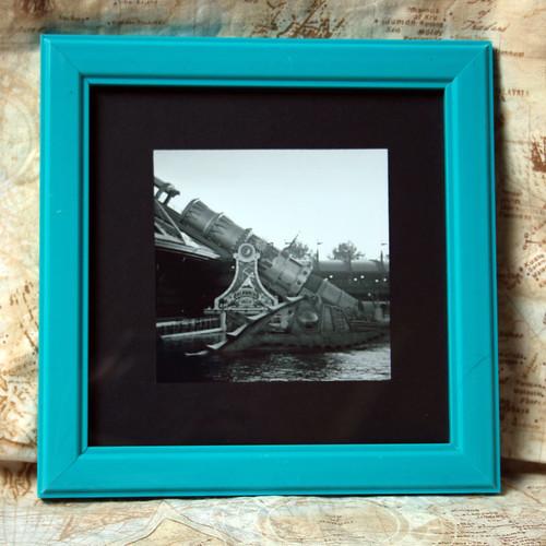 Framed analog photo taken in Disneyland Paris