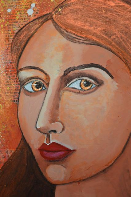 Week 14 Portrait Metallic Bronze 3