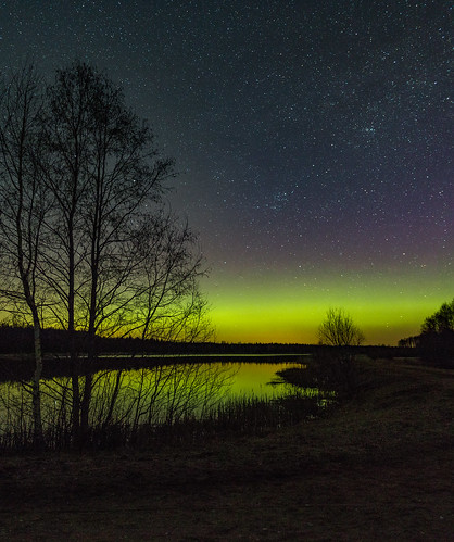 Northern lights, Estonia