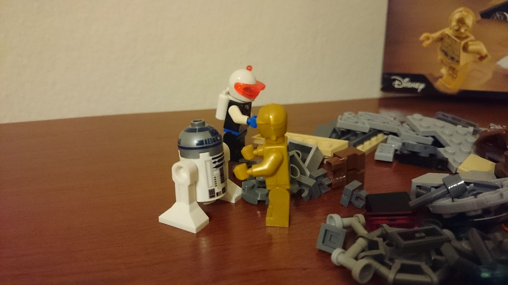 ThebrickReview: LEGO 75136 - (Star Wars) Droid Escape Pod (Pic Heavy!) 25885954436_9104168ec2_b
