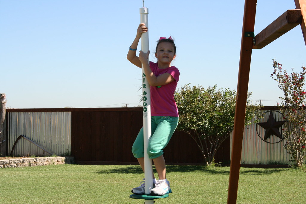 Air Pogo Swing Set Swing Air Pogo Is Best Described As A