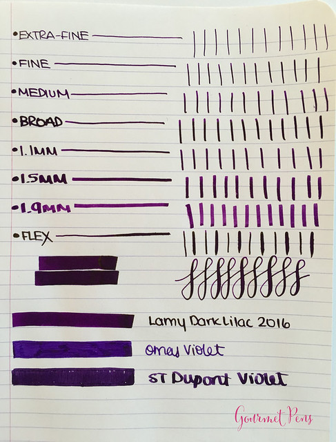 Ink Shot Review Lamy Dark Lilac @Fontoplum0 (4)