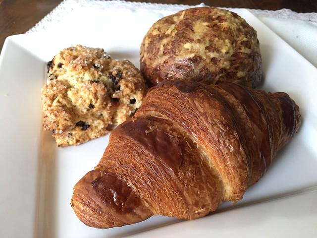 Croissant/Buttermilk Scone/Gougere