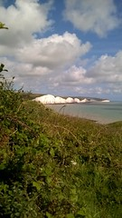 View of The Seven Sisters, Sussex Heritage Coast