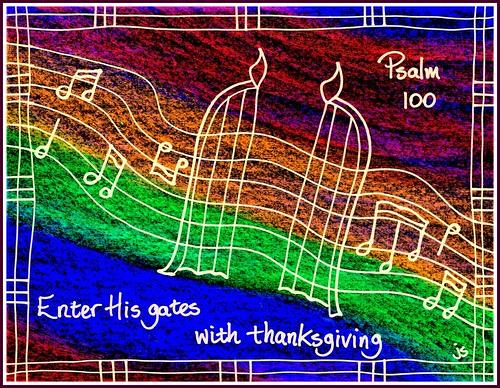 Easter 4 Psalm 100bor
