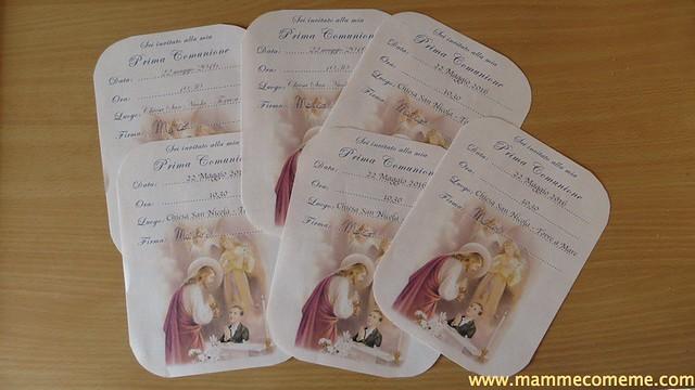 Angeli e inviti Prima Comunione