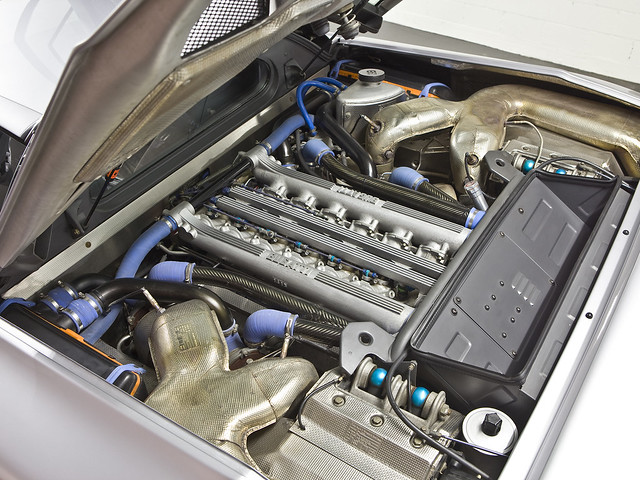 Двигатель Bugatti EB110 GT. 1992 – 1995 годы