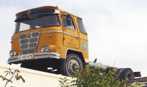 Camió Nazar B enlairat