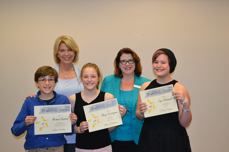 04.24.16 Virginia Frank Writing Contest Recepion