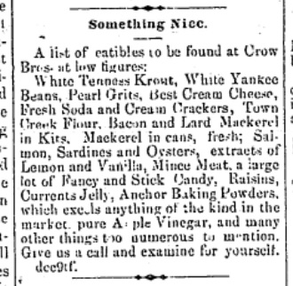 Jan 6 1883 - Jacksonville Republic Newspaper