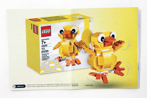 LEGO Seasonal Easter Chick (40202)
