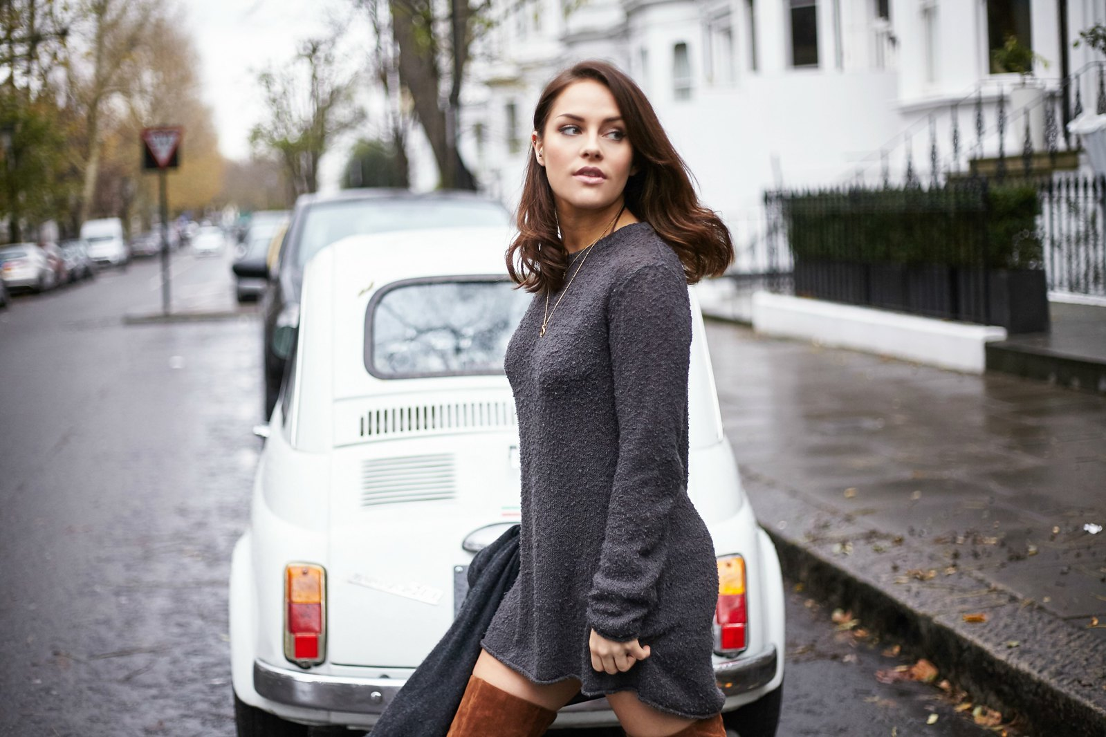 The Little Magpie Over The Knee boots 2