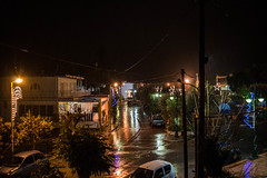 Η πρώτη βροχή του νέου έτους 2016 στη Ψίνθο