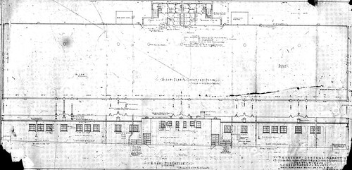 Broadway Market, basement plans, 1927