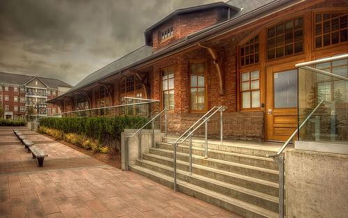 heritagebuilding communitycenter bramptonontario cprstation mtpleasantvillage bramptonheritage heritagereconstruction