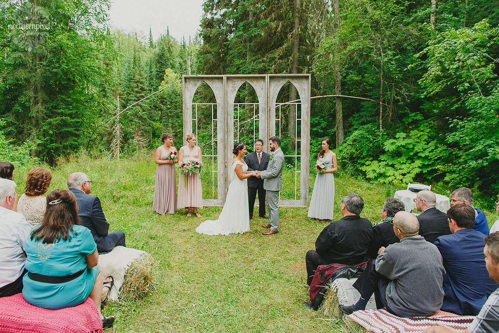 Wedding Ceremony Prince George BC Wedding