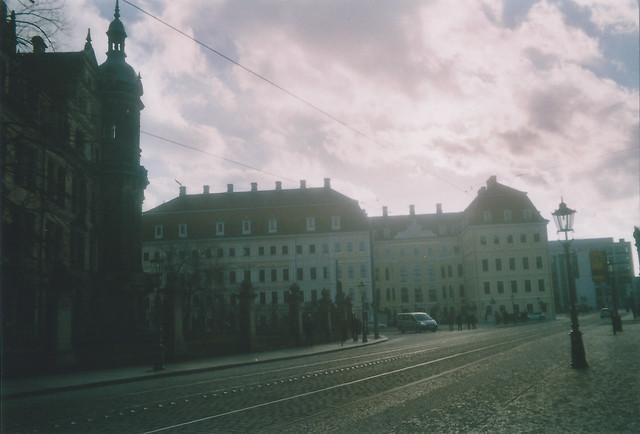 Dresden, Schloss und Taschenbergpalais