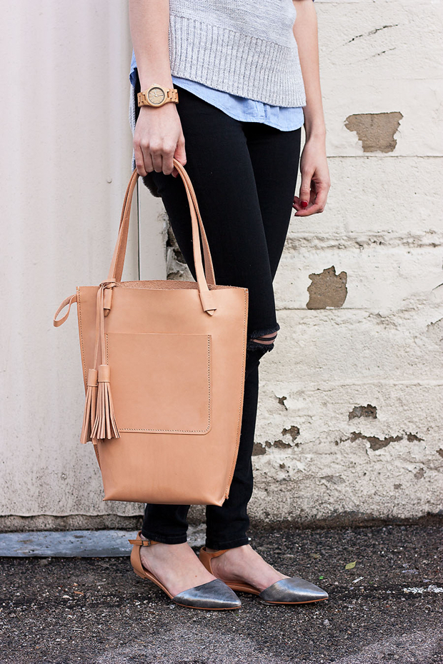 Minnie and George Bag, Jord Wathc, Black Ripped Jeans