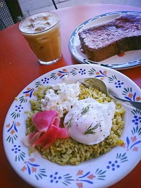 Sqirl Sorrel Pesto Rice Bowl