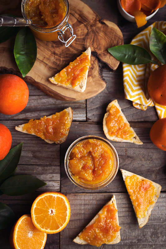 Honey Sweetened Orange Marmalade