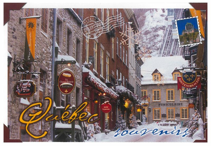 Canada - Quebec - Quebec souvenirs