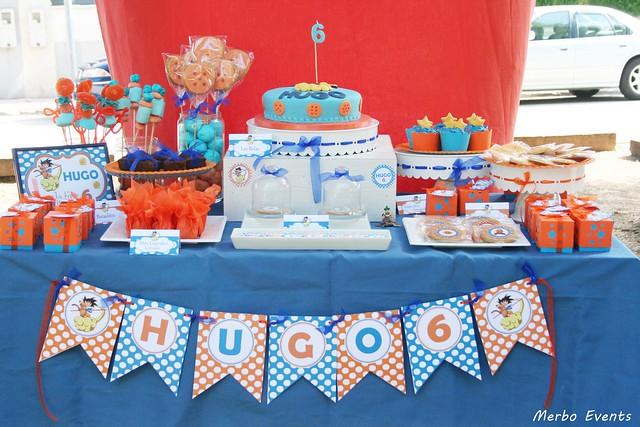 mesa dulceBola de dRagon Merbo Events