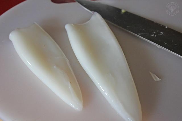 Fideos chinos con calamares y verdura (4)