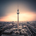 Berlin - TV Tower Spotlight by claudecastor