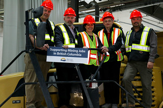 Minister of Energy and Mines Bill Bennett announced action to help keep thousands of B.C.'s metal and coal mines workers on the job by allowing mining companies to temporarily defer a portion of their hydro bills – supporting families and communities during the current slowdown in the sector due to low commodity prices.