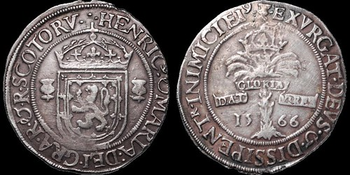 A35.0291 Henry and Mary ryal of 1566