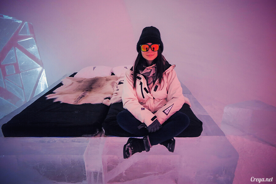 2016.02.25 ▐ 看我歐行腿 ▐ 美到搶著入冰宮,躺在用冰打造的瑞典北極圈 ICE HOTEL 裡 16.jpg