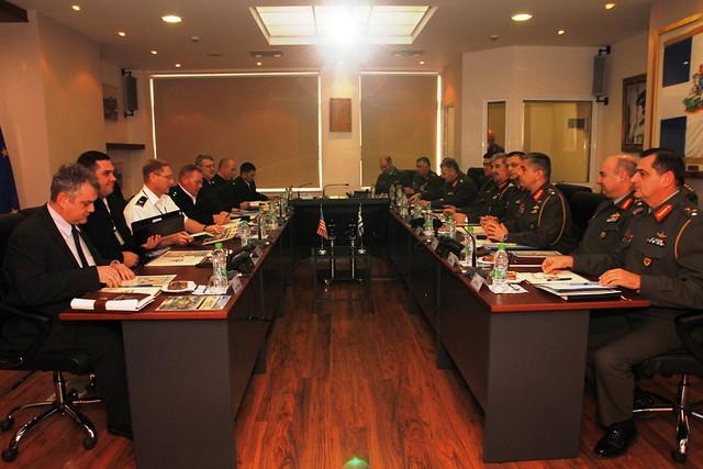 Επίσκεψη Διοικητή USASAC στο ΓΕΣ