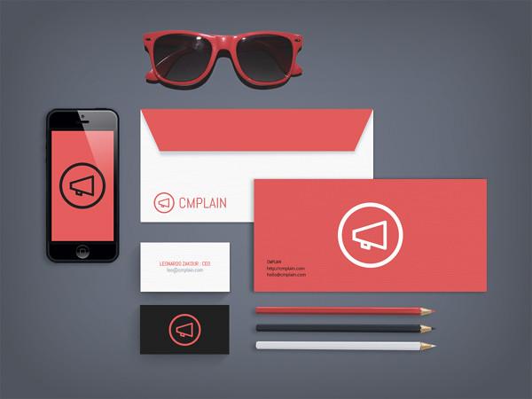 CMPLAIN Branding by Leonardo Zakour and CMPLAIN