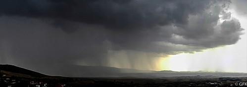 sky cloud storm rain landscape outdoor
