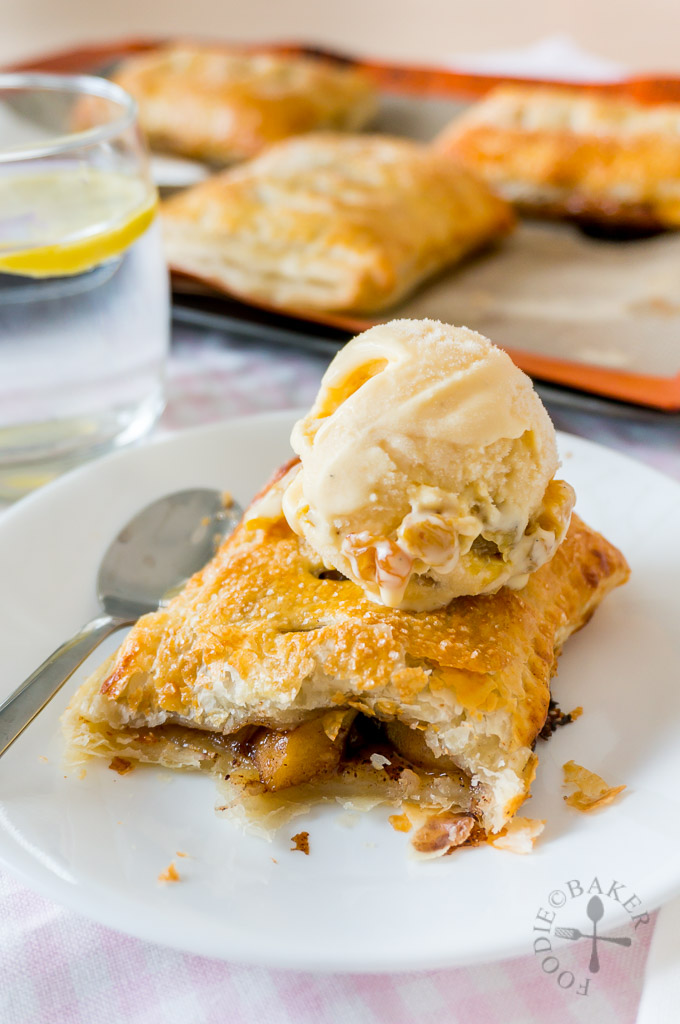 Puff Pastry Apple Pies
