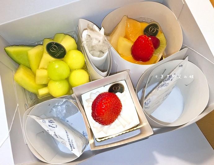 24 新宿高野 TAKANO 東京池袋西武百貨 水果蛋糕 草莓蛋糕