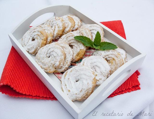 galletas de cítricos